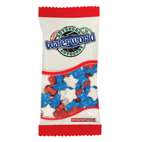 Snack Promo Pack Candy Bag with Stars - July 4th Patriotic