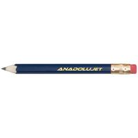 Hex Wooden Golf Pencil with Eraser