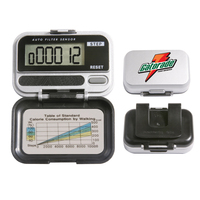 Single-function digital pedometer with 5-step random filter