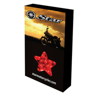 Customizable Star Box Packaging with Cinnamon Red Hots Candy