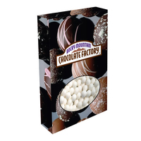 Customizable Oval Box Packaging with Signature Peppermints