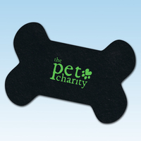 Bone Shaped RETREAD Recycled Tire Pet Mat