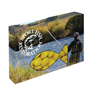Customizable Fish Box Packaging with Corporate Chocolate