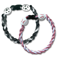 Sports Themed Ionic Braided Bracelet
