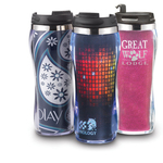 16 oz. double wall spill resistant Hollywood tumbler