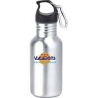 Sports water bottle, stainless steel