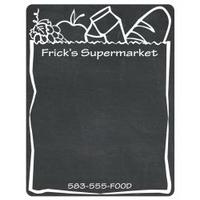 Medium Chalkboard Magnet 8-1/2 x 11