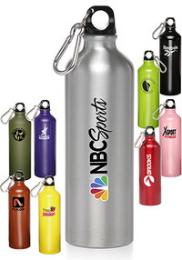24 oz Aluminum Water Bottles Custom Printed
