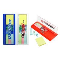 Ontario Desk Accessory (Ruler, paper clip, sticky notes set)