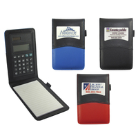Atlanta Leatherette Handy Jotter with Calculator
