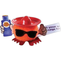 Sombrero, Sunglasses & Sun Cream Hat & Hand Weepul