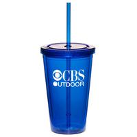 Plastic Tumbler Cup Empty- 16 oz.