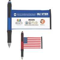 CleanWrite Full Color Microfiber Banner Stylus Pen