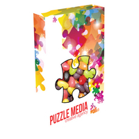 Customizable Puzzle Box Packaging with Jelly Beans Candy