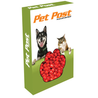Customizable Paw Box Packaging with Cinnamon Red Hots Candy