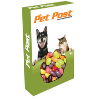 Customizable Paw Box Packaging with Jelly Beans Candy