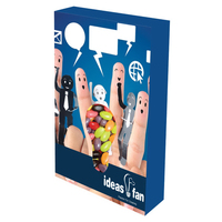 Customizable Bulb Box Packaging with Jelly Beans Candy