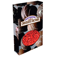 Customizable Oval Packaging with Cinnamon Red Hots Candy