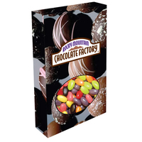 Customizable Oval Box Packaging with Jelly Beans Candy