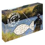 Customizable Fish Box Packaging with Signature Peppermints