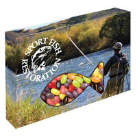 Customizable Fish Box Packaging with Jelly Beans Candy