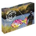 Customizable Fish Box Packaging with Conversation Hearts