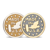 Satin Finish Die Struck Pin