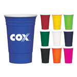 16 oz. Reusable Double Wall Tailgate Party Cup
