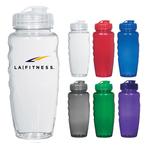 30 oz. Gripper Eco-Polyclear Sports Fitness Bottle