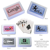 """Compact Playing Card Deck 2 1/4"""""""