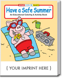 Have a Safe Summer Coloring and Activity Book