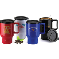 12 oz. BPA Free Travel Mug with Handle