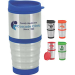 Serius 16 oz. Stainless Steel Tumbler with Plastic Liner