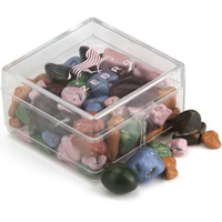 Square Plastic Candy Container