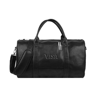 Pleather Duffel