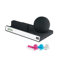 Supersonic Portable Bluetooth Speaker With Stand
