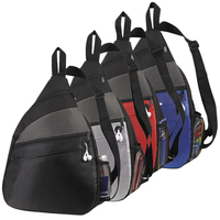 Metallic Doby Sling Backpack