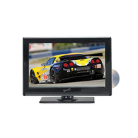 "Supersonic 22"" WIDESCREEN LED HDTV WITH BUILT-IN DVD PLAYER"