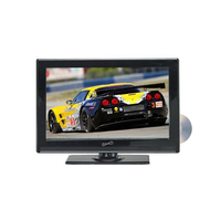 "Supersonic 24"" WIDESCREEN LED HDTV WITH DVD PLAYER"