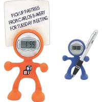 Bendy the Clock Man Humanoid Clock and Card Holder