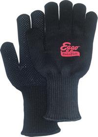 Extra Warm Black Knit Freezer Gloves