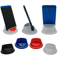 Portofino Spinning Cell Phone Stand with Full Color Dome Imp