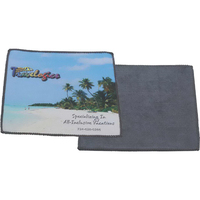 Full Color Microfiber Cloth w/Terrycloth Back