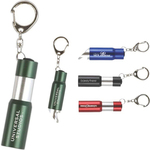 LED Flashlight with Retractable Bottle Opener