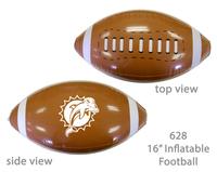 """Inflatable football 16"""" - E628"""