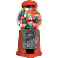 "9"" H Red Petite Gumball Machine"