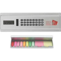 Solar Calculator Ruler with Sticky Notes