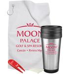 Steel Budget Tumbler Golf Gift Set