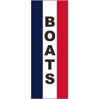 3' x 8' Message Square Flag - Boats