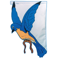"Blue Bird 28""x40"" Flag"